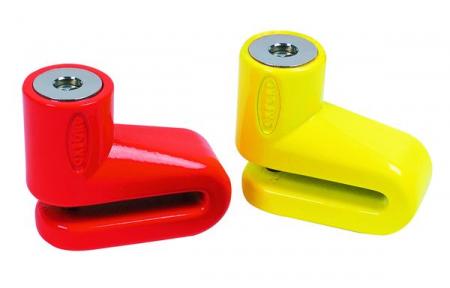 Protectie Antifurt OXFORD Junior 5mm blocare disc portocaliu