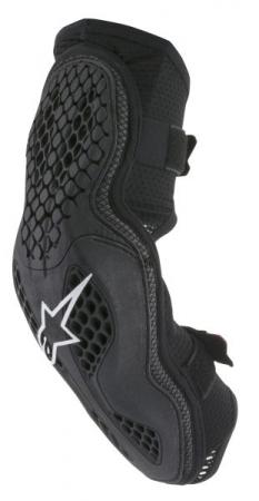 Protectie coate ALPINESTARS MX SEQUENCE culoare negru/rosu, marime M; S