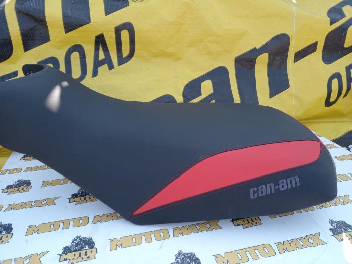 Material șa Outlander G2 negru-roșu 1