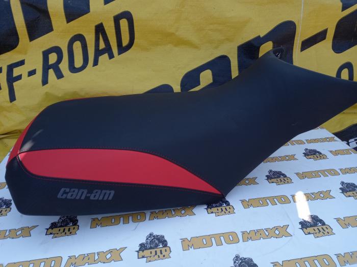 Material șa Outlander G2 negru-roșu 3