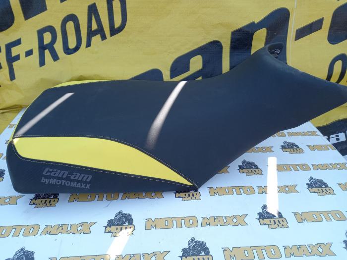 Material șa Outlander G2 negru-galben [2]