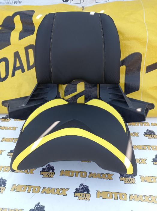 Material scaun Outlander G2 negru/galben 0