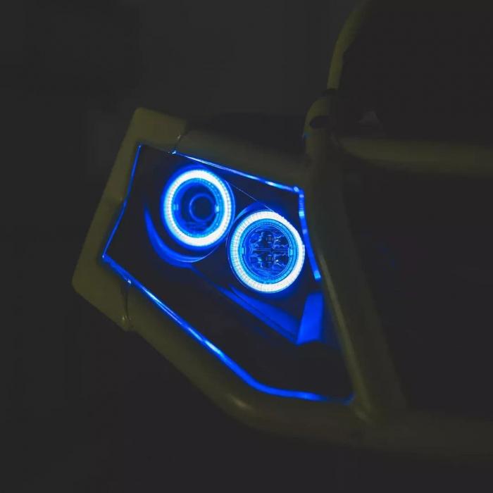 Angel eyes Albastru Neutrino 2 Led [0]