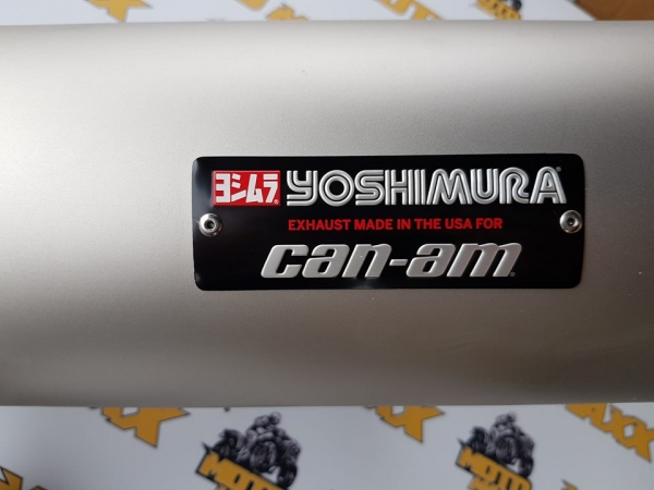 Toba Sport Yoshimura Slip-On Maverik X3 4