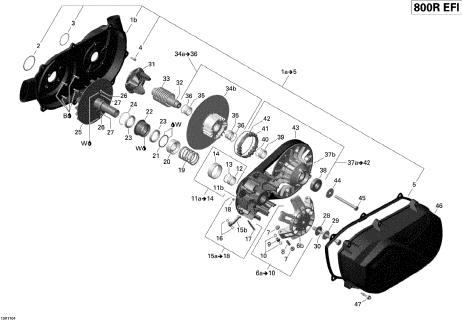 Suport Variator Primar G1 / G2 2