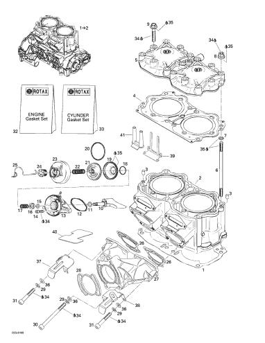 Kit Garnituri Sea Doo 957 [4]