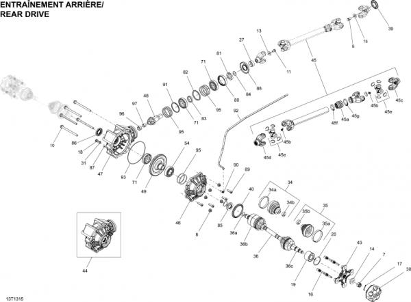 Bucata Cardan XMR 1000 G2 6