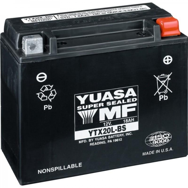 Baterie YUASA 18 Amp Wet 0