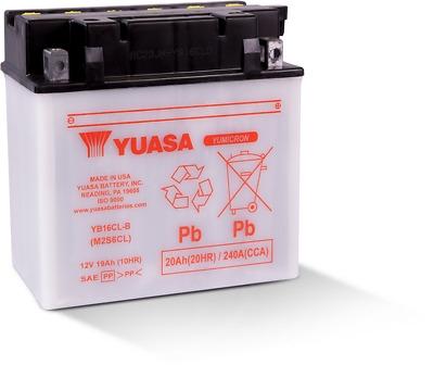 Baterie YUASA 19 Amp Dry 0