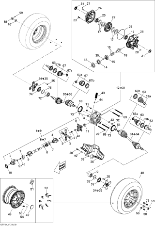 Burduf Aerisire Diferentiale G1 2