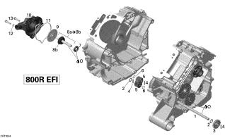 Pinion Pompa Apa G1 1