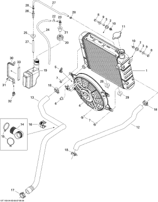 Radiator G1 4