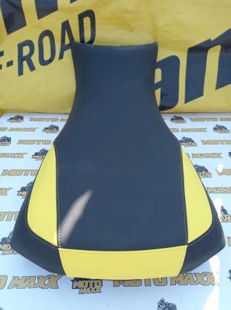 Material șa Outlander G2 negru-galben [0]