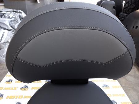 Material scaun Outlander G1 negru- gri [3]