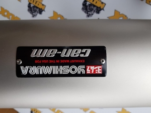 Toba Sport Yoshimura Slip-On Maverik X33