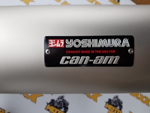 Toba Sport Yoshimura Slip-On Maverik X34