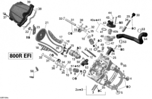 Carcasa Intinzator Distributie G13