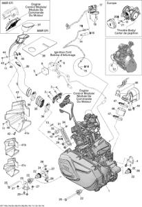 Garnitura Flexibila CVT G13