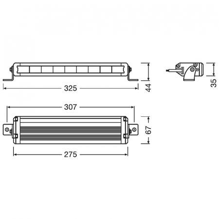 PROIECTOR LED OSRAM VX250- SP / SPOT [1]