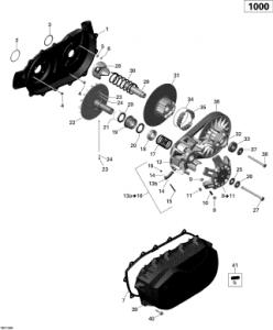 Garnitura Capac Transmisie2