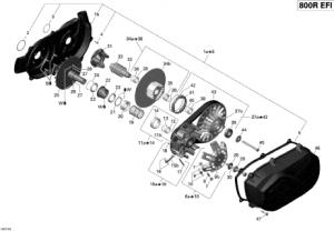 Garnitura Capac Transmisie1