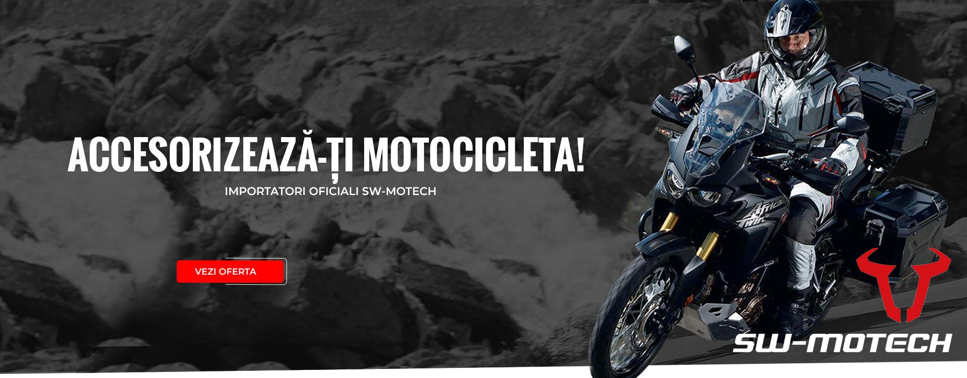 Accesorizează-ți motocicleta!