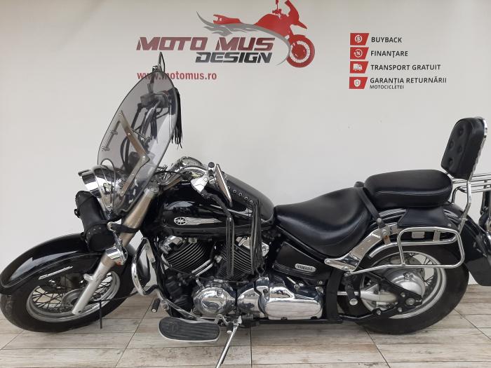 Motocicleta Yamaha Dragstar Classic 650cc 39CP-Y01188 5