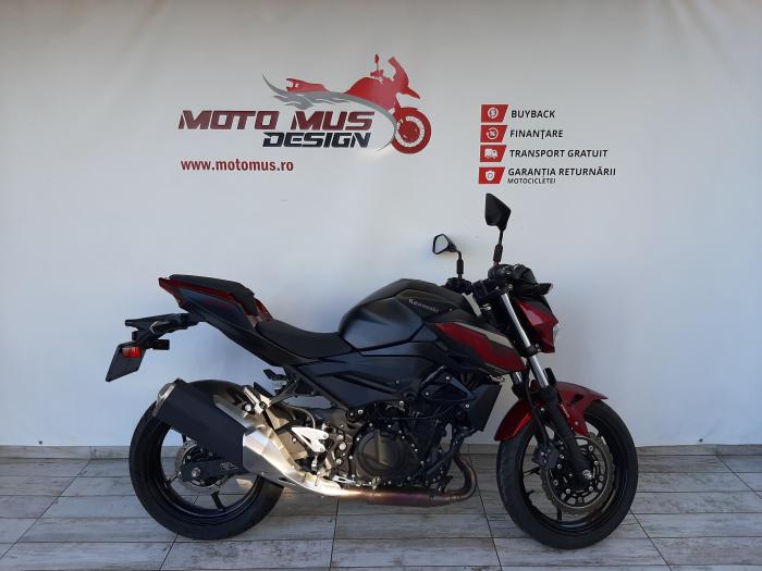 Motocicleta Kawasaki Z400 ABS 400cc 44CP-K3481 se poate conduce cu A2 0