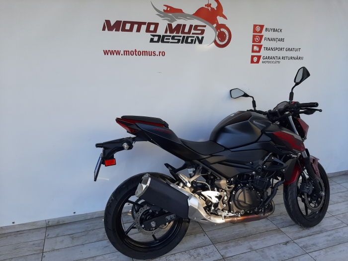 Motocicleta Kawasaki Z400 ABS 400cc 44CP-K3481 se poate conduce cu A2 1
