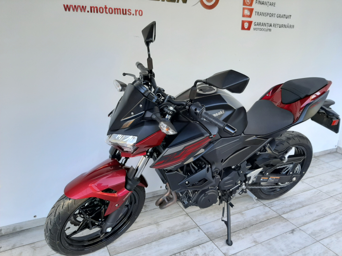 Motocicleta Kawasaki Z400 ABS 400cc 44CP-K3481 se poate conduce cu A2 6