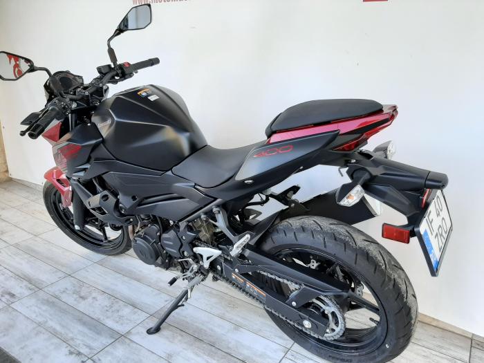 Motocicleta Kawasaki Z400 ABS 400cc 44CP-K3481 se poate conduce cu A2 9
