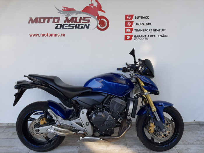 Motocicleta Honda Hornet ABS 600cc 34CP-H63819 se poate conduce cu A2 0