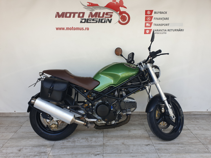 Motocicleta Ducati Monster 600cc 54CP - D12023 [0]
