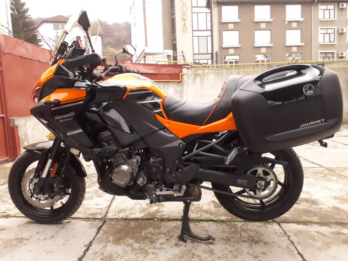 Motocicleta Kawasaki Versys 1000 2