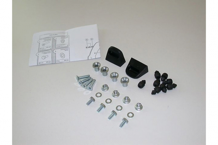 Adapter kit Pentru carrier 2 pcs. Pentru Givi/Kappa Monokey cases. 0