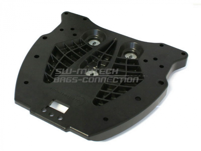 Placa Adaptoare Pentru ALU-RACK Base plate. Without mount Pentru top case. Quick-Lock function. Negru [0]