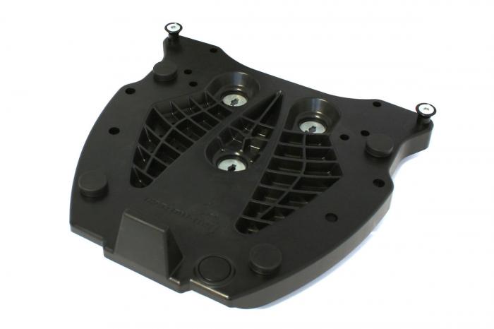 Adaptor placa Top Case SHAD. Fiber reinforced Nylon. Negru [0]