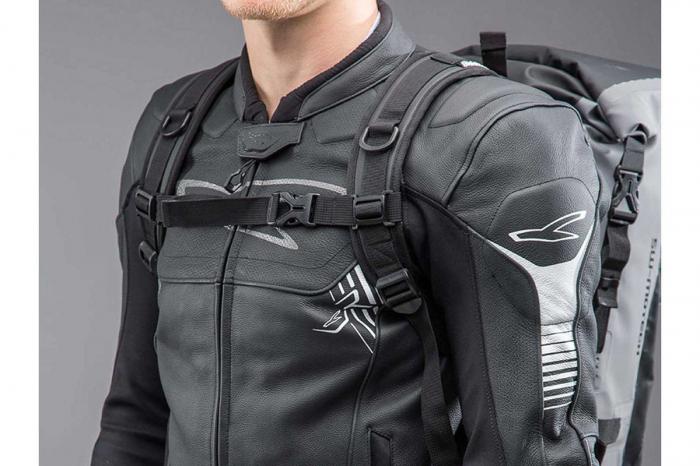 Backpack Baracuda Tarpaulin. Impermeabil. Gri/Negru 25 l. 2