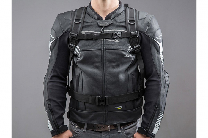 Backpack Baracuda Tarpaulin. Impermeabil. Gri/Negru 25 l. 3