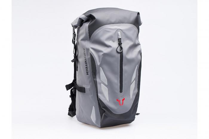 Backpack Baracuda Tarpaulin. Impermeabil. Gri/Negru 25 l. 0