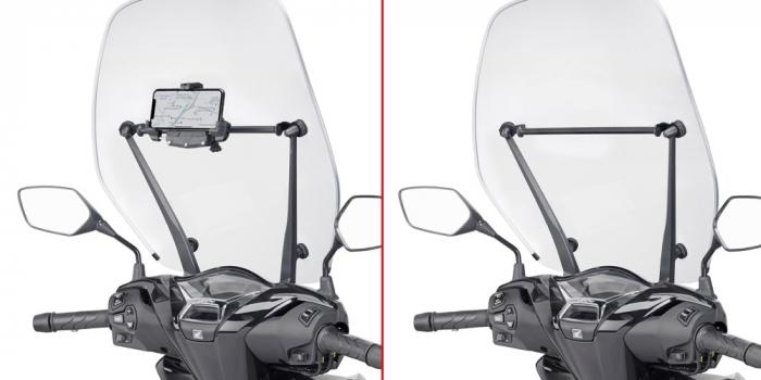 Bara transversala pentru suport Telefon / Navigatie Honda SH 125-150 (20) [0]