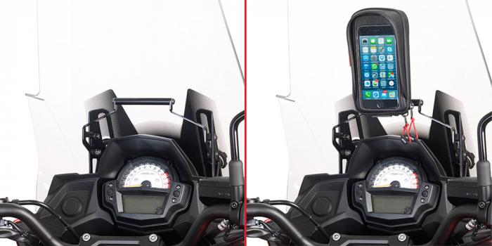 Bara transversala pentru suport Telefon / Navigatie Kawasaki Versys 650 (15 > 17) [0]