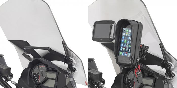Bara transversala pentru suport Telefon / Navigatie Suzuki V-Strom2014-2017 0