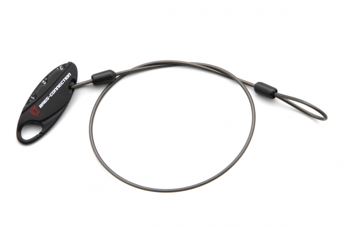 Cablu antifurt cu cifru 50 cm 0