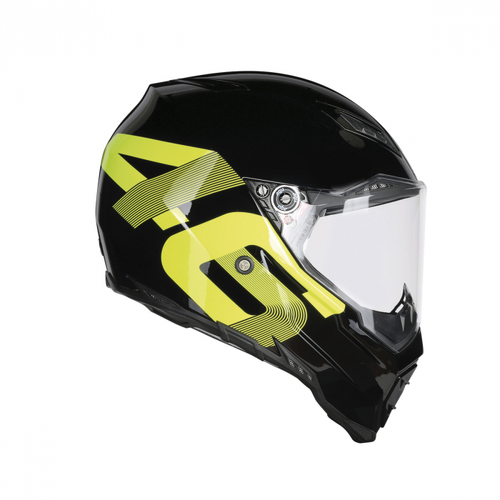 Casca AGV AX-8 EVO NAKED E2205 TOP - IDENTITY BLACK/YELLOW 1