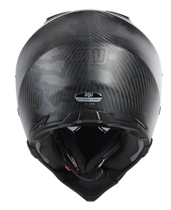 Casca AGV Full-face AX-8 Naked Carbon Fury Carbon Black 3
