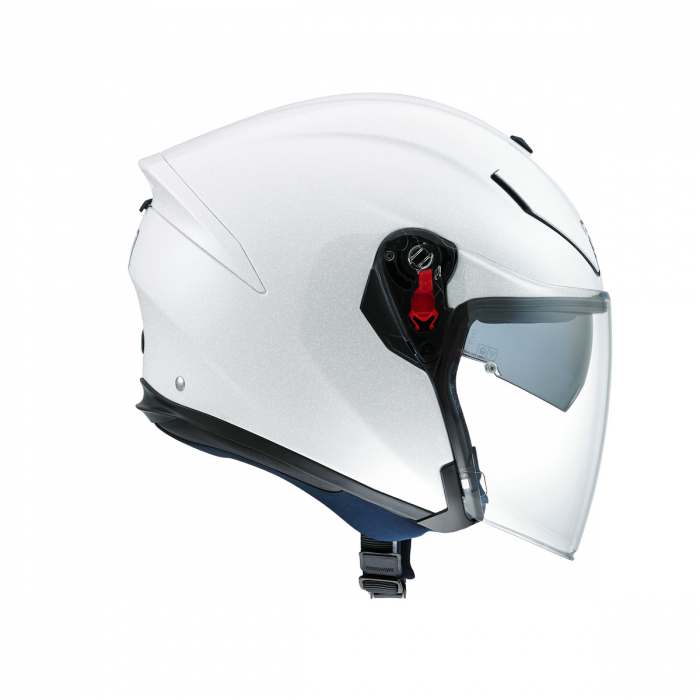 Casca AGV K-5 JET E2205 MONO - PEARL WHITE 1