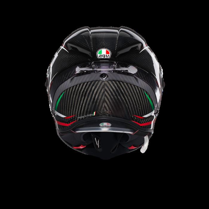 Casca AGV PISTA GP R E2205 MULTI - STACCATA CARBON/RED 5