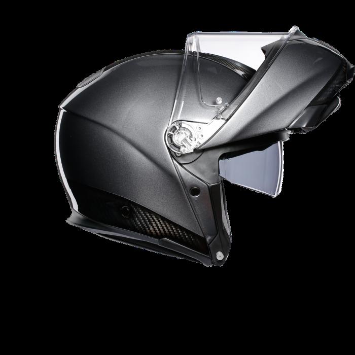 Casca AGV SPORTMODULAR MONO E2205 - CARBON/DARK GREY 3