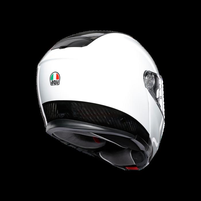 Casca AGV SPORTMODULAR MONO E2205 - CARBON/WHITE 4